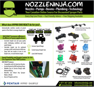 Discount Sprayer Nozzles and Accessories From Canada