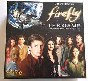 Firefly: The Game board game - LIKE NEW!