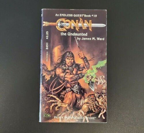 D&D Endless Quest #19 - Conan the Undaunted - Dungeons and Dragons - TSR Exc