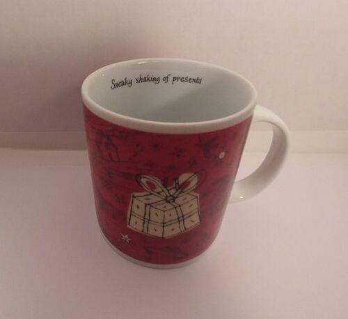 Red Christmas Mug Starbucks Presents Holiday Gift Coffee Cup