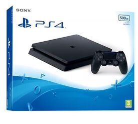 PS4 slim 500GB brand new boxed