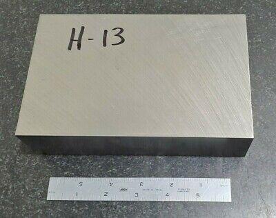H-13 Tool Steel Flat Stock Machine Shop Die 1.8 X 4.5 X 6.6 H13