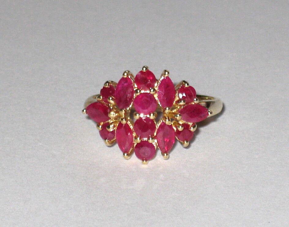 10K Gold Ruby Ring 3.1 Grams Size 7 - $170.00