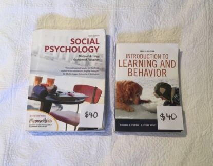 Social psychology vaughan hogg textbook textbooks gumtree 2nd year psychology textbooks fandeluxe Choice Image