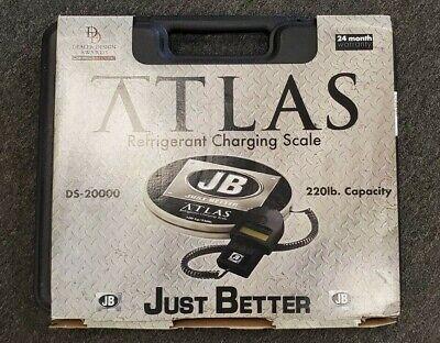 Jb Atlas Ds-20000 Refrigerant Charging Scale 220lb. Capacity