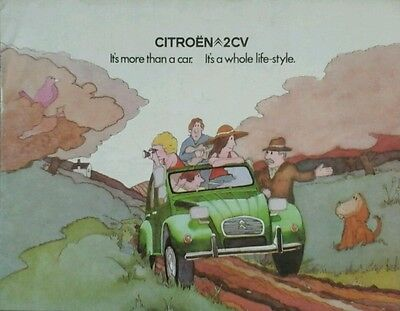 Citroen 2 CV Sales Brochure