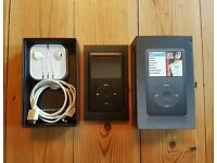 6th Generation iPod Classic with box, charger and headphones