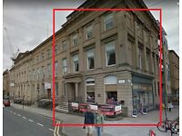 Space for Varierty of Uses, Offices in city centre Glasgow Bath Street, Near to motorway.