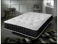 Same day Delivery BRAND NEW Packed and Sealed 24cm Spring and Memory Foam Mattress