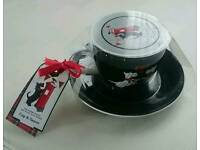 Delightful SCOTTIE Dog Cup And Saucer Sets