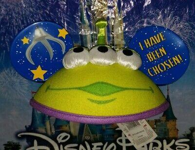 NEW Disney Parks Pixar Toy Story Little Green Men Alien Claw Mickey Ears - Alien Ears