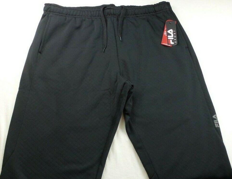 Men's FILA SPORT Alpha Fleece Performance Sweat Pants - Gray