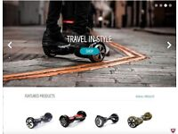 Hoverboard Segway Online/Shop eCommerce Business For Sale - Accounts Available - Huge Profit Margins