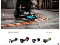 Online Franchise Business Opportunity - eHover Segway Hoverboard eCommerce Store