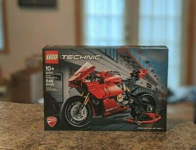 LEGO Techic 42107 - Ducati Panigale V4 R - FREE Shipping / In Hand