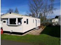 Deluxe 3 bedroom/8 berth caravan for hire at Seton Sands - pet friendly