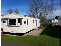 Deluxe 8 berth / 3 bedroom Caravan for rent at Seton Sands. Pet freindly
