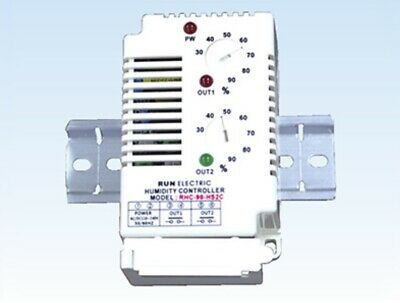Run Electronic RHC-90-HS2C 2 Channel Humidity Controller 30~90% For Heater