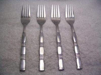 Emily-set (Oneida Northland EMILY Set of 4 Dinner Forks 7 1/2