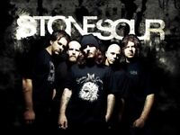 2 standing tickets for stone sour