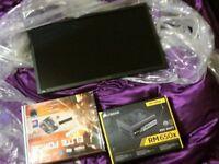 PC Gaming Bundle Acer Predator Monitor, Asus Motherboard, I7 Processor, Corsair Power Supply
