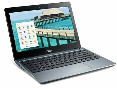 "Acer Chromebook C720-2844 11.6"" Cel 3215U 4Gb 16GB WiFi HDMI BT 1 Year Warranty"