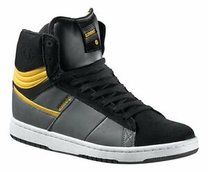 MEN'S Element Omahigh HI TOP Leather Suede Skate Shoes ...