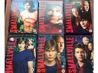 Smallville Seasons 1-6 DVD Boxset