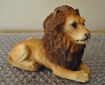 STONE CRITTERS LION Sculpture Paperweight Vintage
