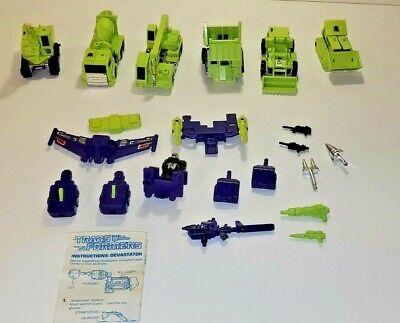 Vintage Original G1 Transformers Devastator. 1984 Takara,Japan.