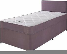 *BRAND NEW* Single Divan Bed + Matress