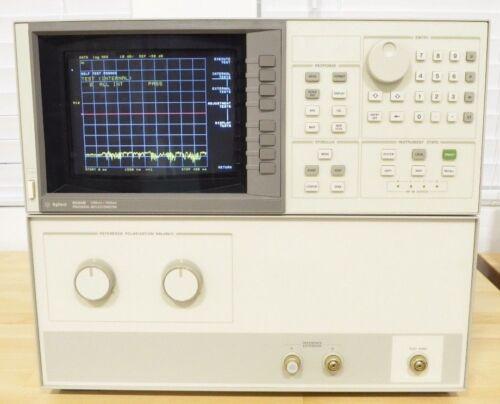 Agilent HP 8504B 1300 1550nm Precision Reflectometer Lightwave System COMPLETE!