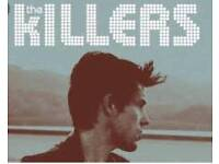 2 tickets for The Killers O2 Arena London 28 Nov