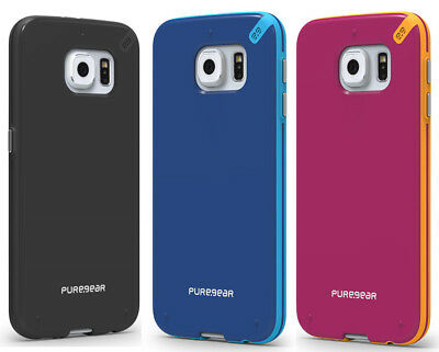 PUREGEAR SLIM SHELL CASE COVER FOR SAMSUNG GALAXY S6