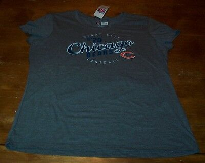 WOMEN'S TEEN CHICAGO BEARS NFL FOOTBALL Windy City T-Shirt XL NEW w/ TAG