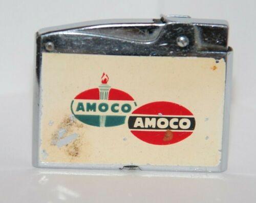 Vintage 1950s AMOCO Gas / Oil Advertising Lighter