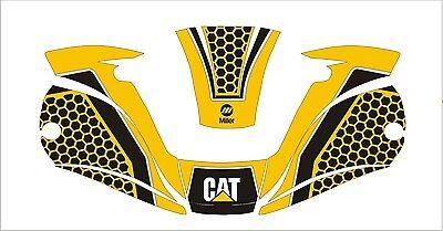 Miller Digital Elite 257213 Titanium Welding Helmet Wrap Decal Sticker Cat