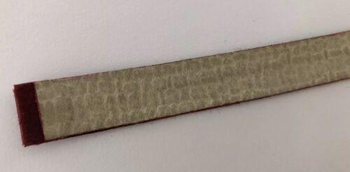 Bracelet pour montre poiray en satin bordeaux 15mm de largeur @ strap 132 mm