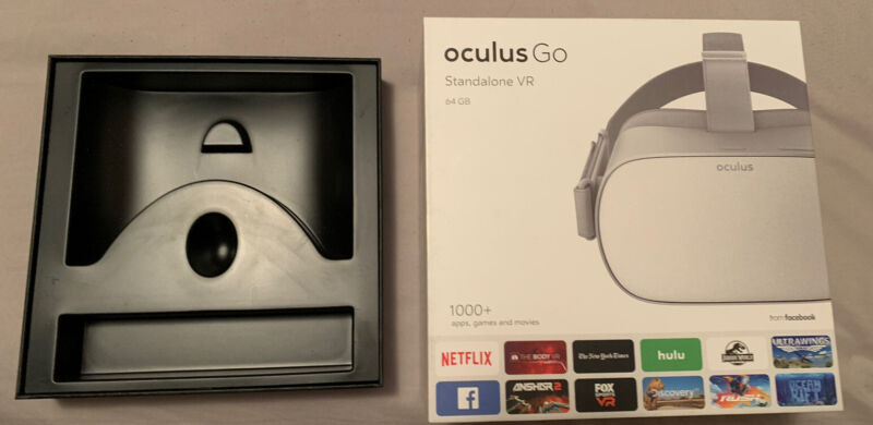 Oculus Go Box ONLY - Headset Not Included !!