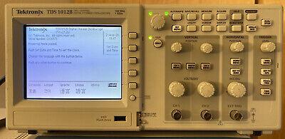 Tektronix Tds 1012b 100mhz 1gsas Oscilloscope