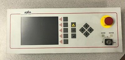 Rofin Sinar Powerline Control Panel Terminal With Key