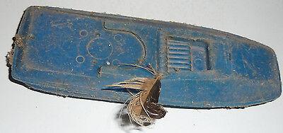Plaste blau Rumpf Kunststoff Ostsee Plaste ca. 19cm lang (Kunststoff-spielzeug Boot)