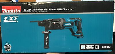 Makita Xrh04z 18v Cordless Battery 78 Rotary Sds Hammer Drill Lxt Tool Only