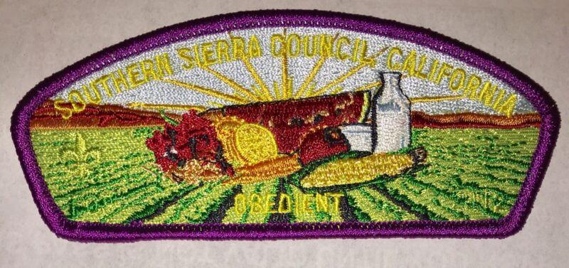 Boy Scout Southern Sierra Council FOS Obedient Csp / SAP Bakersfield, CA Mint
