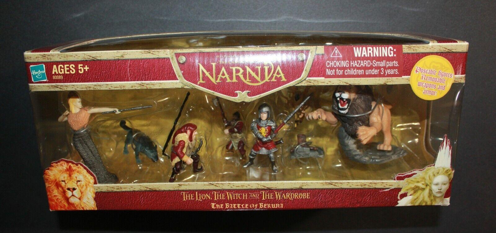 HASBRO NARNIA THE BATTLE OF BERUNA ACTION FIGURE PLAY SET NE