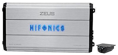 Hifonics Zeus Zxx 3200 1D 3200W Rms Mono Block Class D Car Audio Amplifier Amp