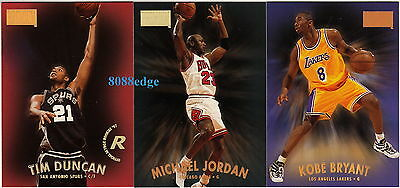 1997-98 SKYBOX SERIES 1 COMPLETE 125 CARD SET: MICHAEL JORDAN+DUNCAN/McGRADY RC