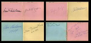 76-CLASSICAL-MUSICIANS-AUTOGRAPH-ALBUM-1967-1972-Conductors-Pianists-Guitarist