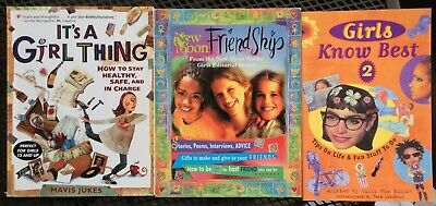 Lot of 3 Especially for Girls: Girls Know Best, It's a Girl Thing, Friendship