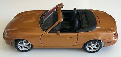 Gate Mazda Miata/MX-5 in Metallic Orange 1:18 Scale in Excellent Condition